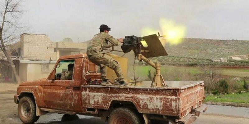 Afrin cephesi doğudan batıya birleşti