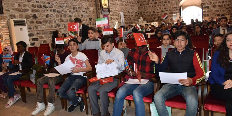 316 yabancı Türkçe öğrendi