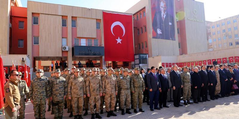 Atatürk'ün Mardin'e gelişinin 102'nci yılı törenle kutlandı