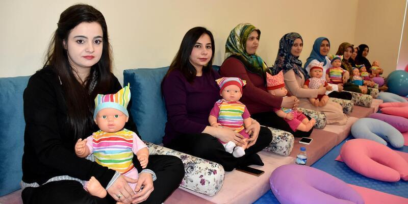 Anne adaylarına uygulamalı gebelik eğitimi
