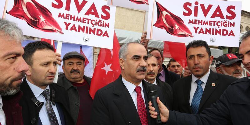 Sivas'tan Mehmetçiğe yardım
