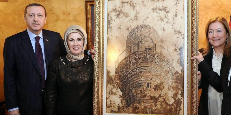 Mardinli ressam, Erdoğan'ın önerisiyle tekniğine patent aldı