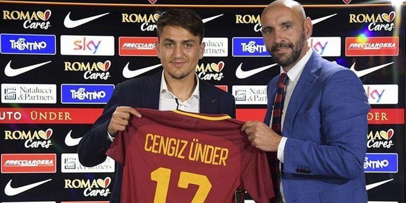 Monchi: Cengiz Ünder, Roma'nın geleceğinde önemli bir futbolcu olacak