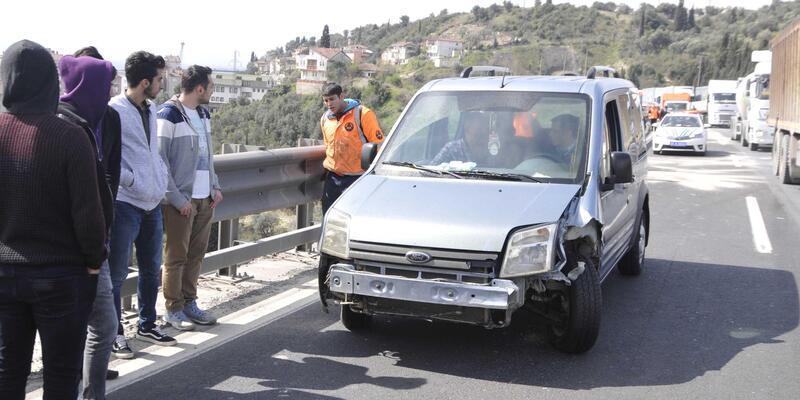 Körfez'de zincirleme kaza: 3 yaralı