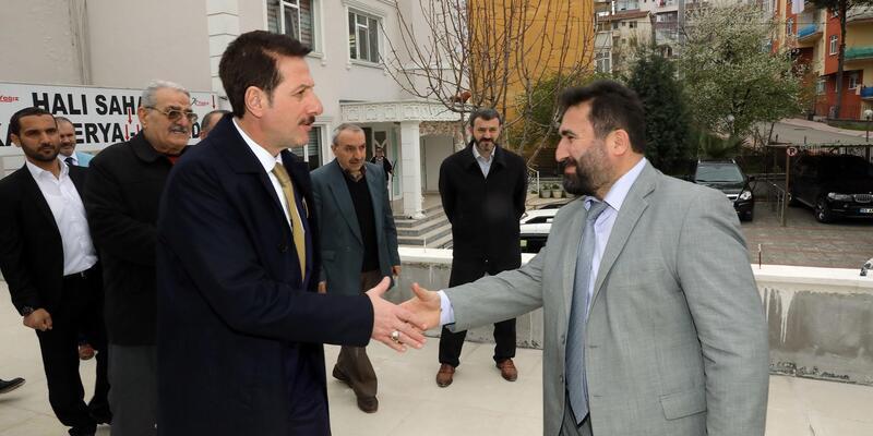 Başkan Tok, Hz. Ömer Camii'ni ziyaret etti