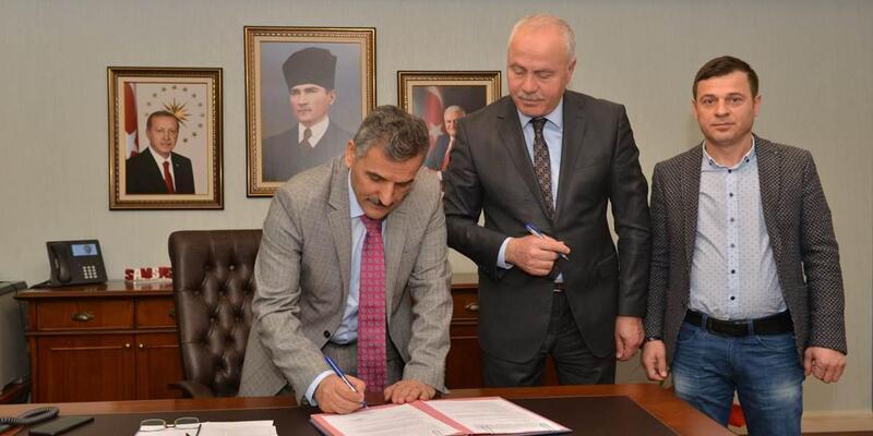 Bafra'ya yapılacak yeni okul için protokol imzalandı