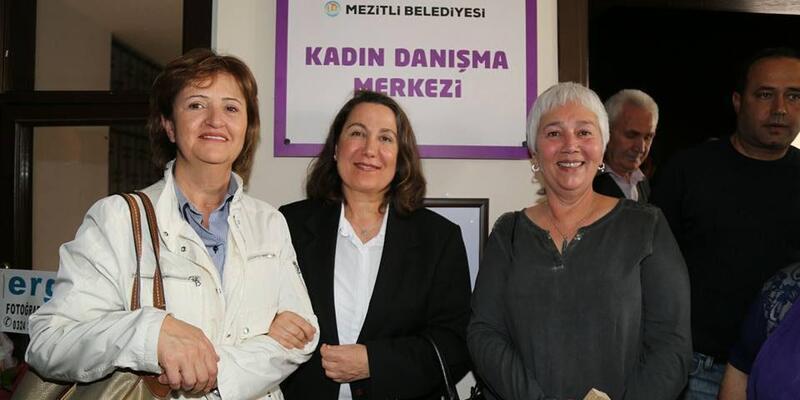 Mezitli'de Kadın Danışma Merkezi açıldı