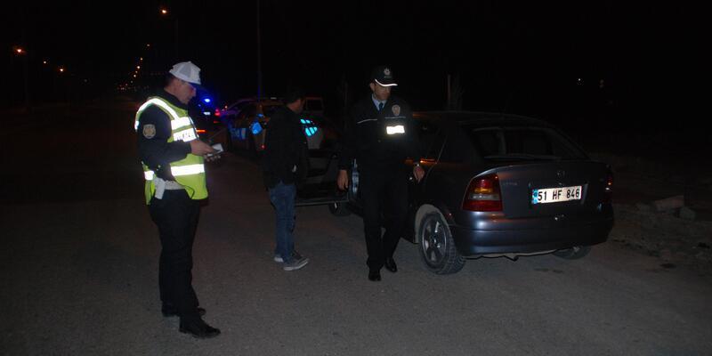 Niğde'de 350 polis ile asayiş uygulaması