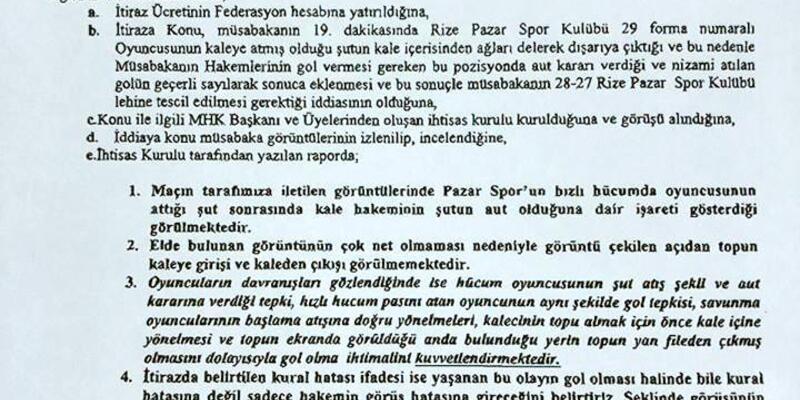 Sivas Belediyespor'dan Hentbol Federasyonuna tepki