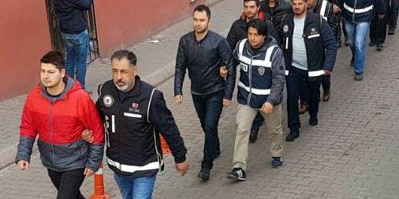 FETÖ şüphelisi 9 askeri personel adliyeye sevk edildi