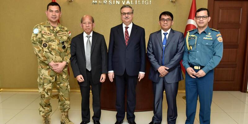 Endonezya büyükelçisi Mersin'de