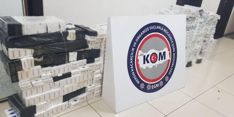 Mersin'de 6 bin 200 paket kaçak sigara ele geçirildi