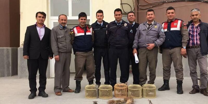 Kaçak avlanan 4 kişiye 11 bin 16 lira ceza