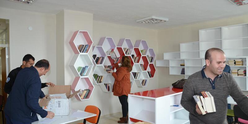 Doğanyol'a ikinci kütüphane