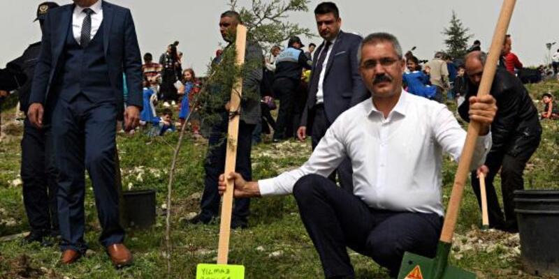Turhal'da 200 fidan dikildi
