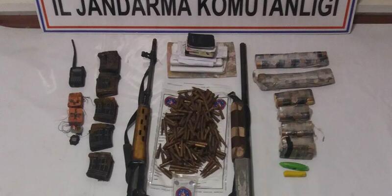 Nazımiye ve Mazgirt'te PKK'ya ait 9 sığınak imha edildi