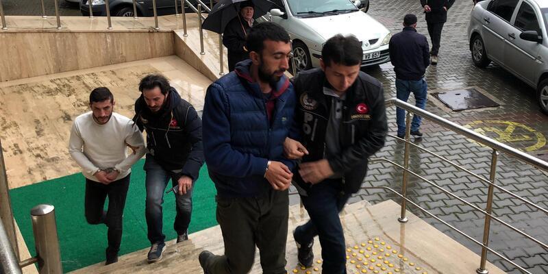 Zonguldak'ta uyuşturucu operasyonu: 3 şüpheli adliyede
