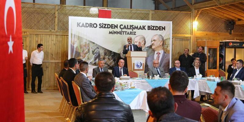 Başkan Aydın işçilerle 'kadro' yemeğinde buluştu