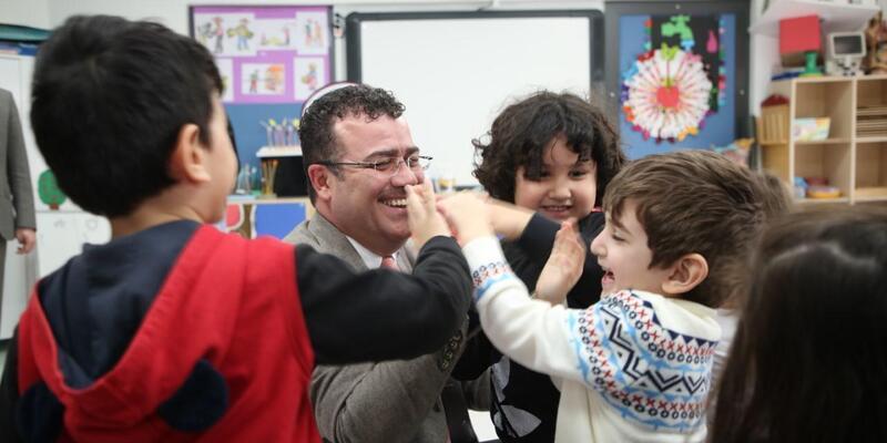 Başkan Taşçı, çocuklarla buluştu