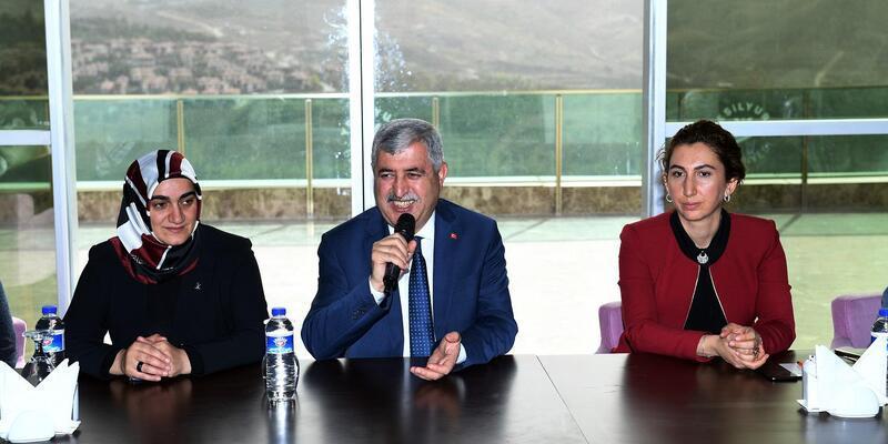 Başkan Polat'tan, Özalper Mahallesi'ne ziyaret