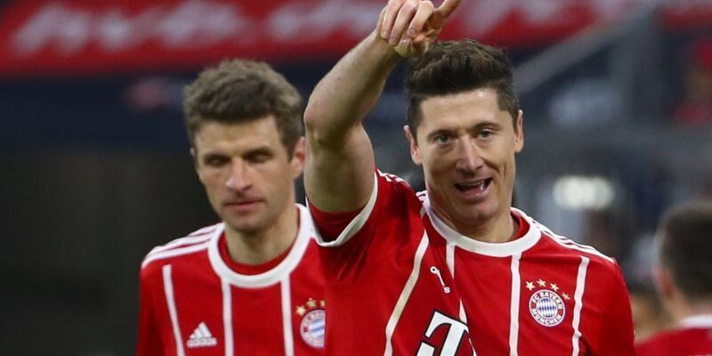 Bayern Münih'ten Dortmund'a tarihi fark