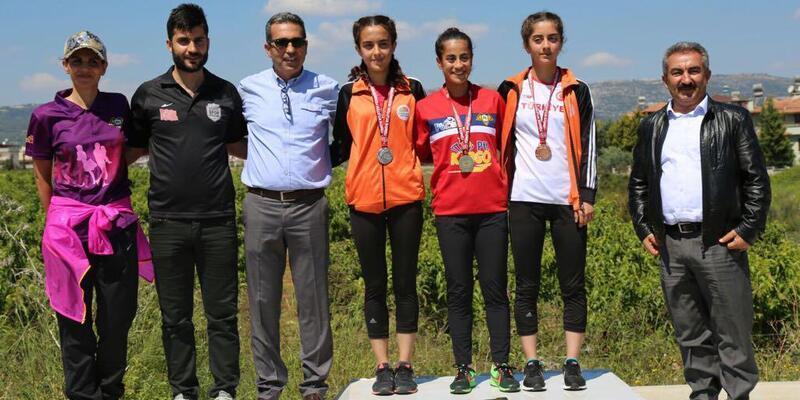 Atletizm Yürüyüş Ligi Mersin etabı sona erdi