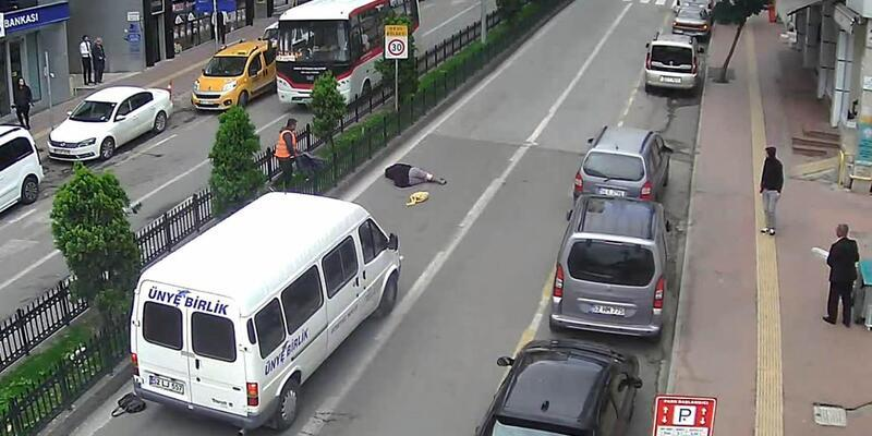 Samsun'daki trafik kazaları Mobese'de