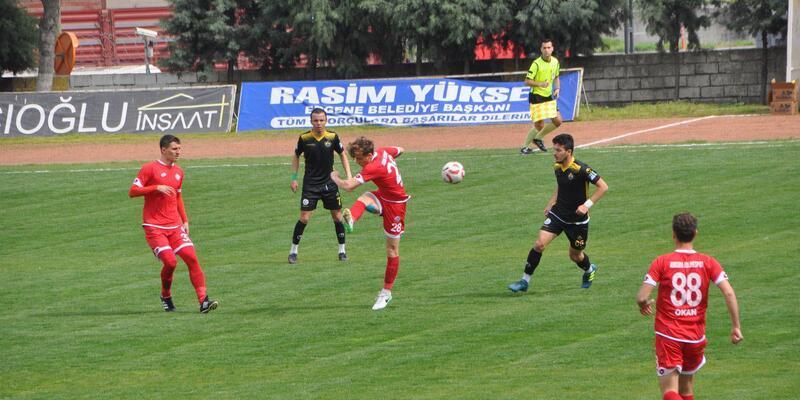 Tekirdağspor - Ankara Adliyespor: 2-1