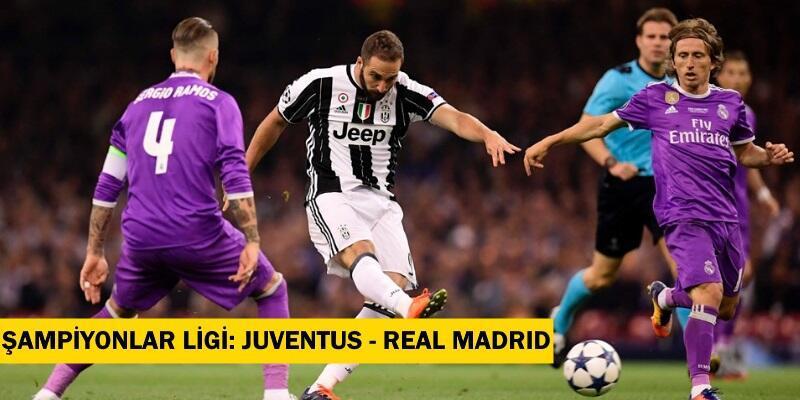 Canlı Juventus-Real Madrid maçı izle   Şifresiz, TRT1 canlı yayın