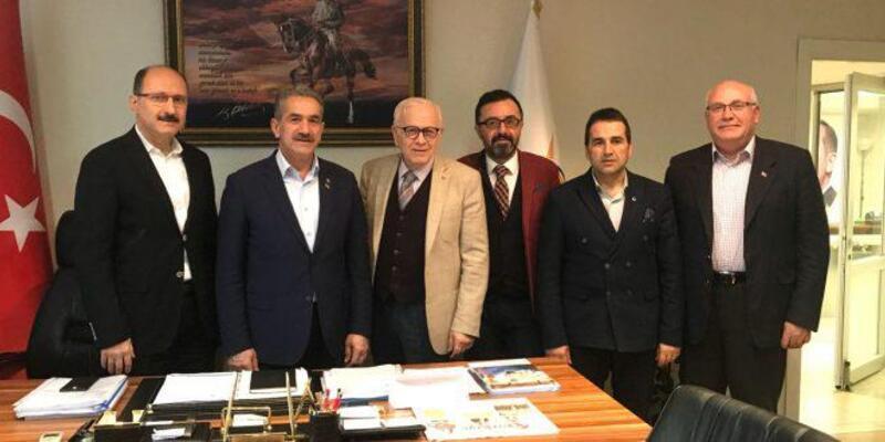 Yalova İMES OSB'den AK Parti ve CHP İl Başkanlıklarına ziyaret