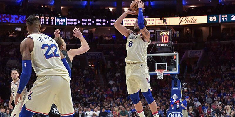 Philadelphia 76ers'ın serisi sürüyor
