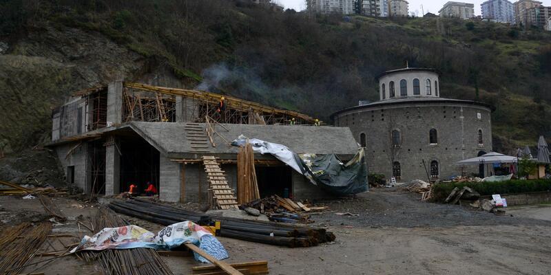 Trabzon'daki 'cephanelik projesi' inşaatına suç duyurusu
