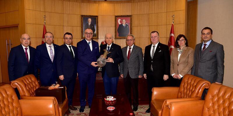 MHP lideri Bahçeli, 207 yatırım için Manisa'ya geliyor