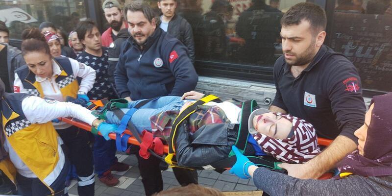 Üniversiteli Sema, kaldırımda freni boşalan kamyonetin çarpmasıyla ağır yaralandı