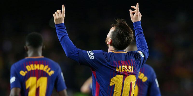 Barcelona kazandı, Sociedad'ın rekorunu egale etti