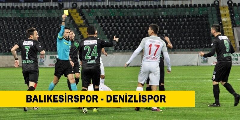 Canlı: Balıkesirspor-Denizlispor maçı izle | 1. Lig maçları hangi kanalda?