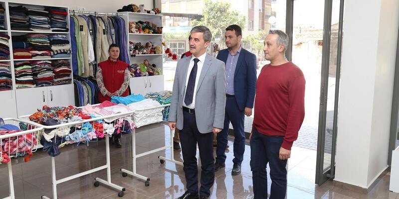 Dosteli Kıyafet Merkezi 2'nci şubesi hizmete girdi