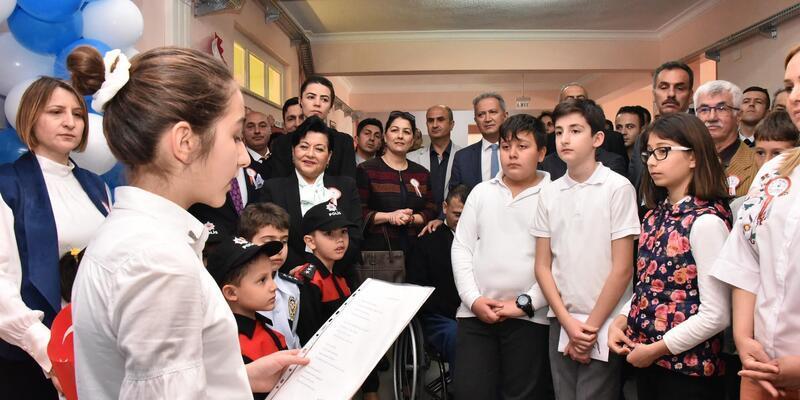 Muğla'da 10 Nisan Polis Kütüphanesi açıldı