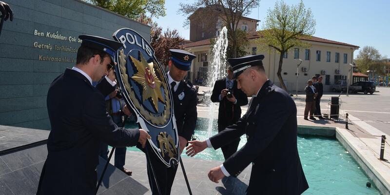 Kula polisinden 173'üncü yıl kutlaması