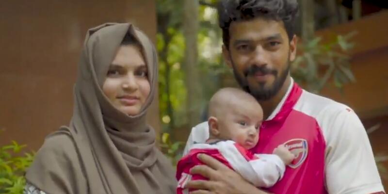 Hintli aile bebeğine Mehd Ozil ismini verdi
