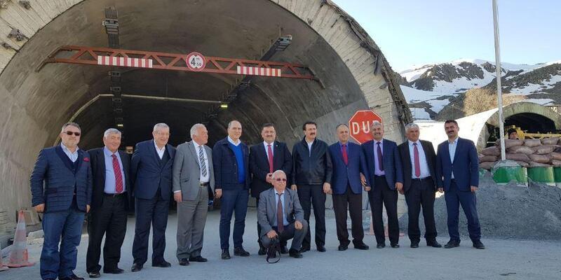 138 yıldır hayal olan Ovit Tüneli projesinde sona yaklaşıldı.