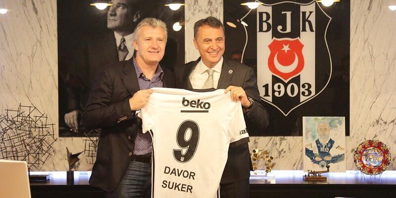 Davor Suker Beşiktaş'ı ziyaret etti