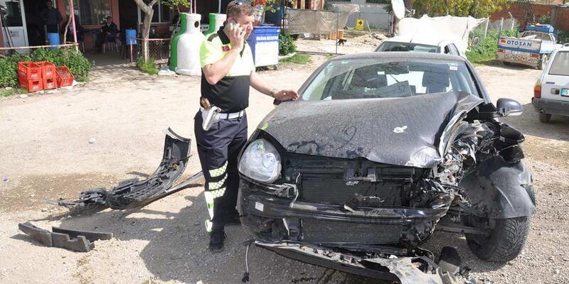 Malkara'da 4 ayrı kazada 5 kişi yaralandı