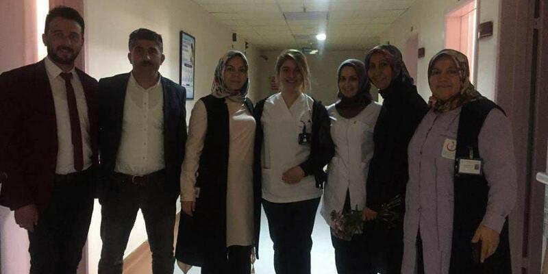 AK Parti Suşehri İlçe Teşkilatı hastaları ziyaret etti