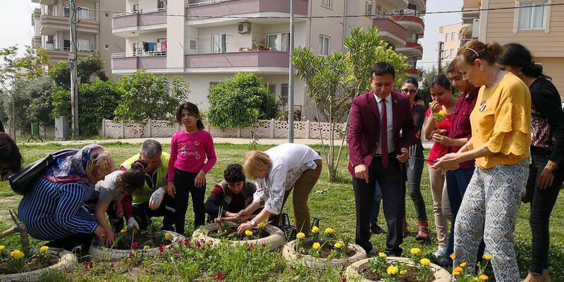 Özel çocuklar baharın gelişini kutladı