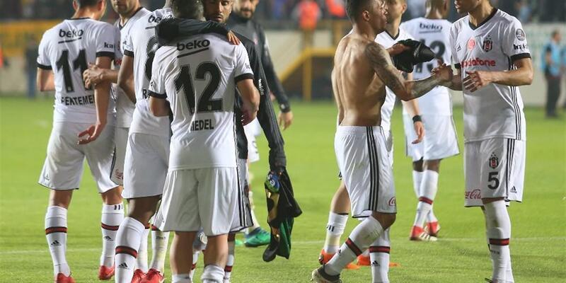 Beşiktaş Süper Lig'de ikinci yarıya damgasını vurdu