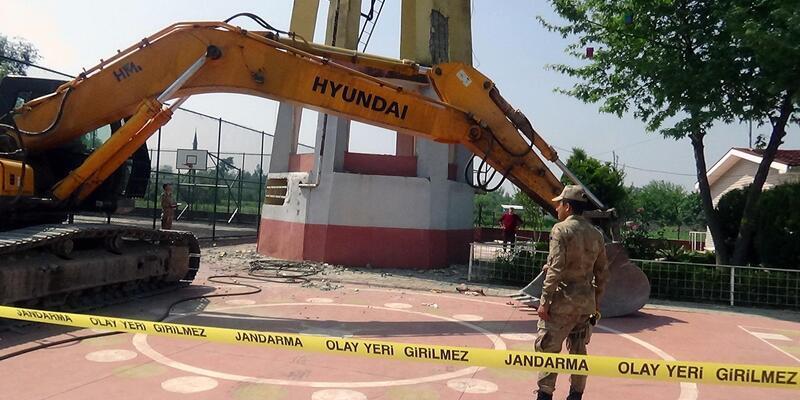 Su kulesinden düşen işçi hayatını kaybetti
