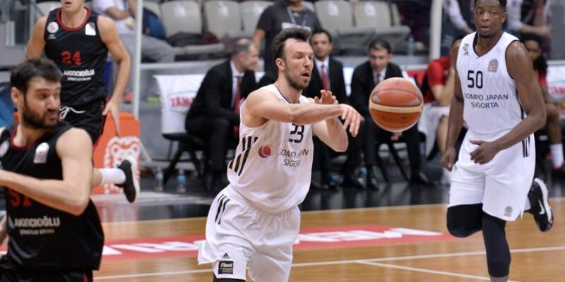 Beşiktaş'tan Gaziantep'e 7 sayı fark