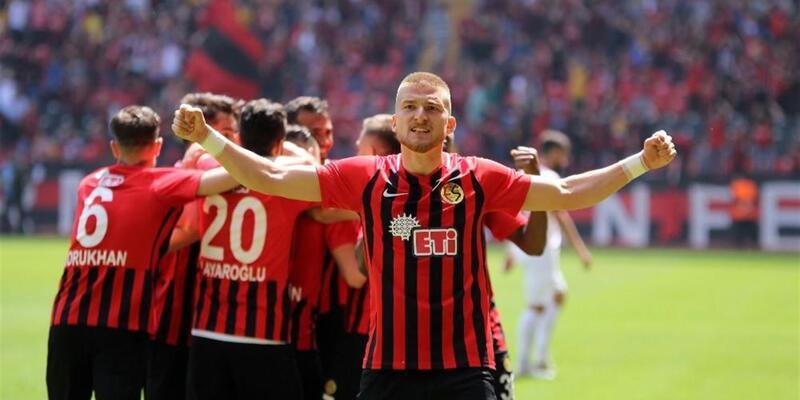 Gol yağdı... Eskişehirspor 5-0 Samsunspor