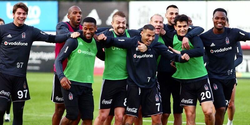 Beşiktaş derbi öncesi eksik çalıştı